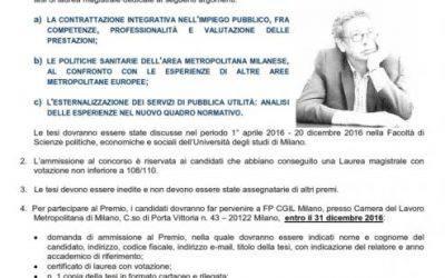 Premio di Laurea 'Riccardo Terzi'